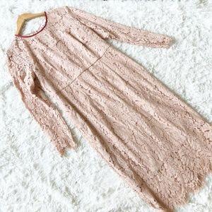 NWT Boden Susannah Lace Sheath Midi Dress